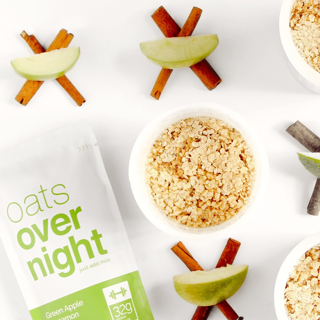 Oats Overnight - Premium High-Protein, Low-Sugar, Gluten-Free (3oz per pack) (24 Pack Variety with BlenderBottle) by Oats Overnight (Image #4)