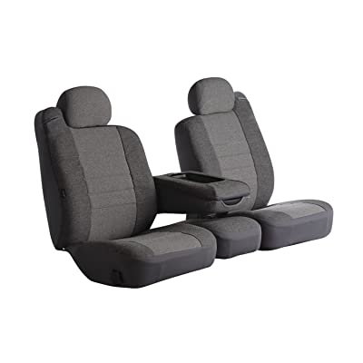 Fia OE38-15 GRAY Custom Fit Front Seat Cover Bucket Seats - Tweed, (Gray): Automotive