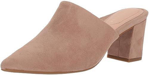 b3438ea4446 Amazon.com  Taryn Rose Women s Madisson Silky Suede Mule  Shoes