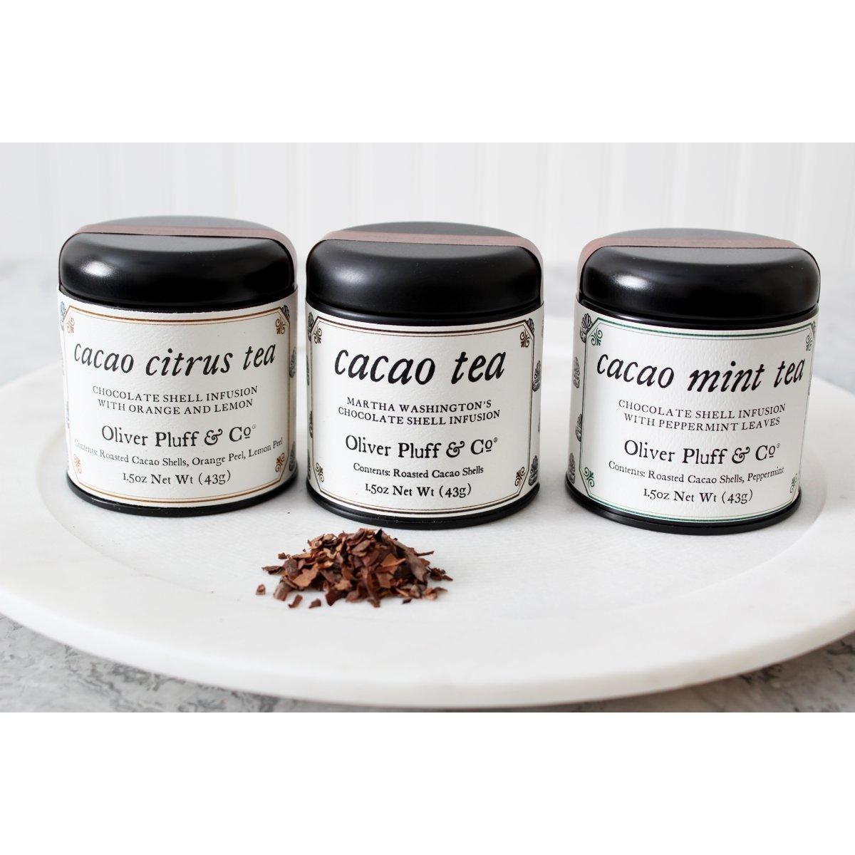Cacao Shell Tea Trio