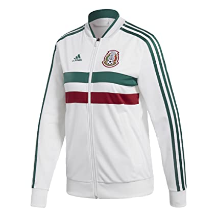 ebfeb85c069 Amazon.com   adidas Women s Soccer Mexico 3 Stripes Track Top ...