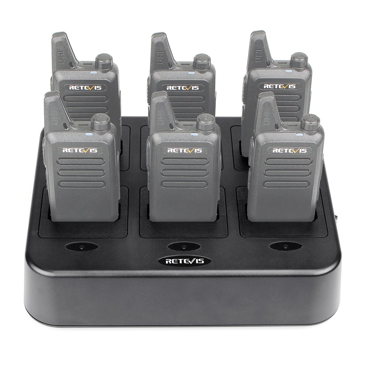 Retevis RT22 Six-Way Charger Multi Unit Charger for Retevis RT22 Walkie Talkie and Battery (1 Pack) by Retevis (Image #1)