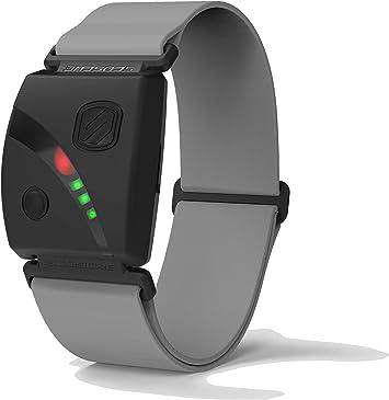 Scosche Rhythm24 - Brazalete impermeable con monitor de frecuencia cardíaca, Gris: Amazon.es: Salud y cuidado personal