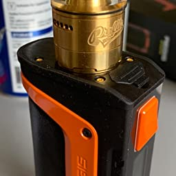 Geekvape Aegis Legend 0w Tc Box Mod New As Chipset E Cigs No Battery Aegis Legend Mod No E Liquid No Nicotine Black Orange Amazon Co Uk Health Personal Care
