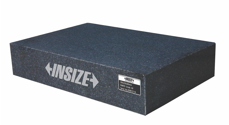 INSIZE 6900– 032 Plaque de surface en granit, DIN876 Caté gorie 0, 300 mm x 200 mm x 60 mm DIN876Catégorie 0 300mm x 200mm x 60mm INSIZE CO. LTD 6900-032
