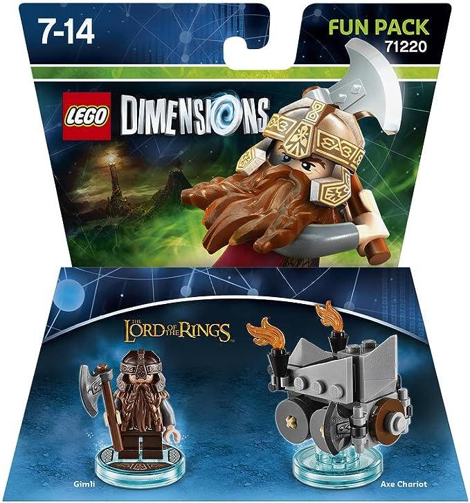 Warner Bros Interactive Spain Lego Dimensions - El Señor De Los Anillos, Gimli: Amazon.es: Videojuegos