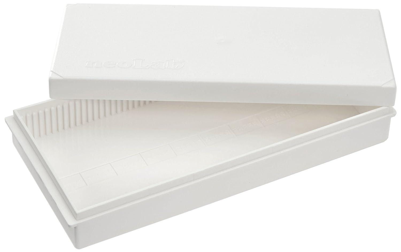 Caja deslizante para 50 diapositivas, blanco, poliestireno, neolab 2-2315 -: Amazon.es: Industria, empresas y ciencia