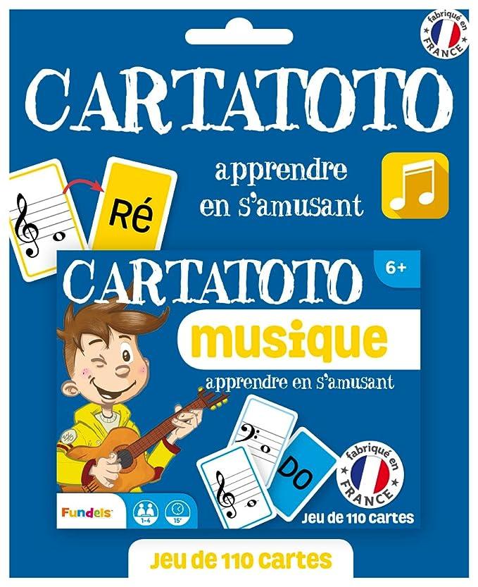 Fundels Cartatoto – música – Juego de Cartas Educativo