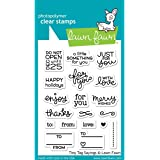 Lawn Fawn Clear Stamps - LF1222 Tiny Tag Sayings