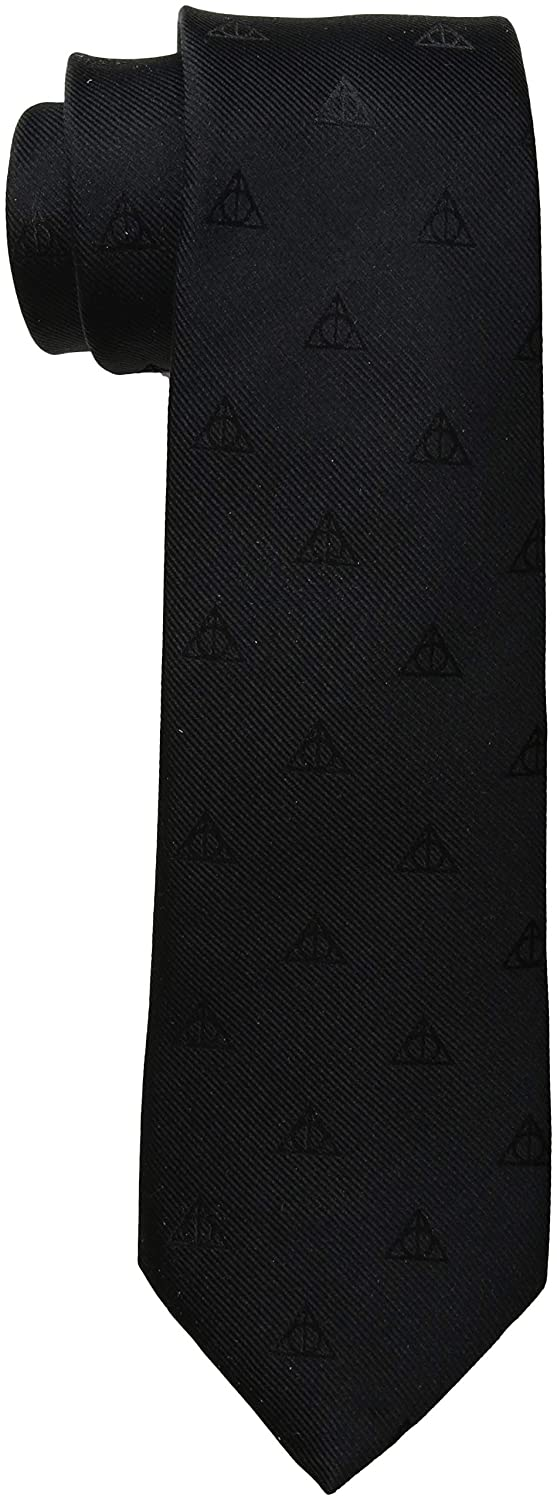 Deathly Hallows Tie Harry Potter HP-DHAL-BK-TR