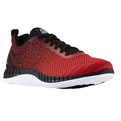 142e163ac25bf5 Reebok Print Run Prime Ultraknit Shoe Men s Running 14 Primal Red-Black -White