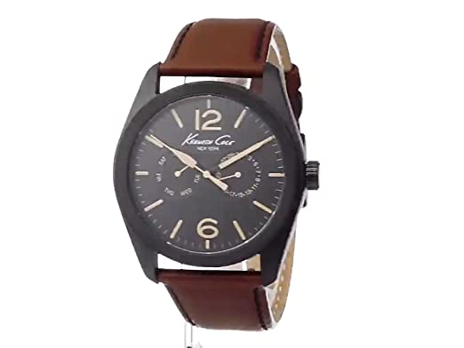 a3402f027 Amazon.com: Kenneth Cole New York Men's KC8063 Classic Analog Display  Japanese Quartz Red Watch: Watches