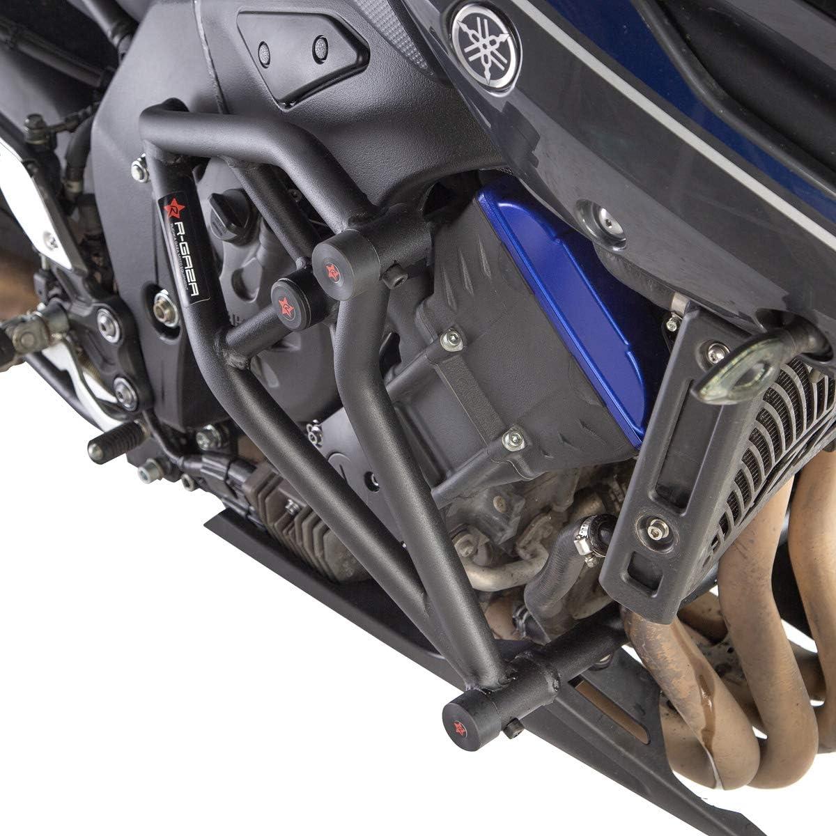 Yamaha FZ8 FAZER8 2010-2015 R-Gaza Street Cage Crash Bars with Sliders
