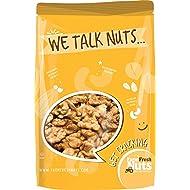 WALNUTS - RAW Shelled CALIFORNIA - Great Source of Omega 3 - Super Crunchy - (1 LB) - Farm Fresh Nuts Brand.
