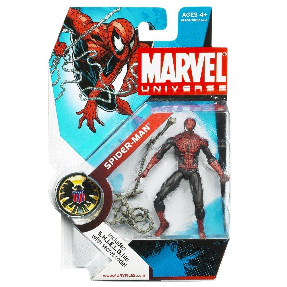 "Marvel Universe 3.75/"" 3 3//4/"" infinite legends series Armored Spider-Man figure"