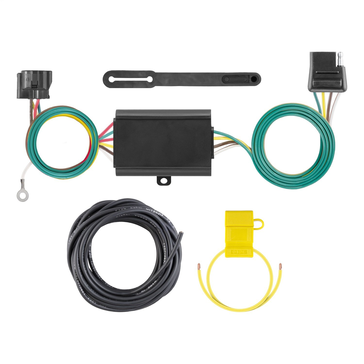Curt Manufacturing 58920 Custom Vehicle RV Wiring Harness Add-On for Dinghy Towing
