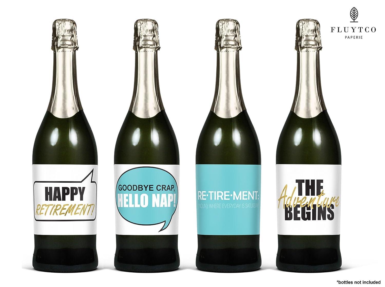 Amazon.com   Retirement Party Supplies & Decorations - Set of 8 Wine ...