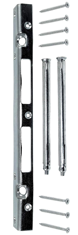 SN-TEC Sicherheits Reparatur Schließ blech 300mm lang 25x20mm Rechts/links verwendbar incl. Montagematerial SN-TEC®