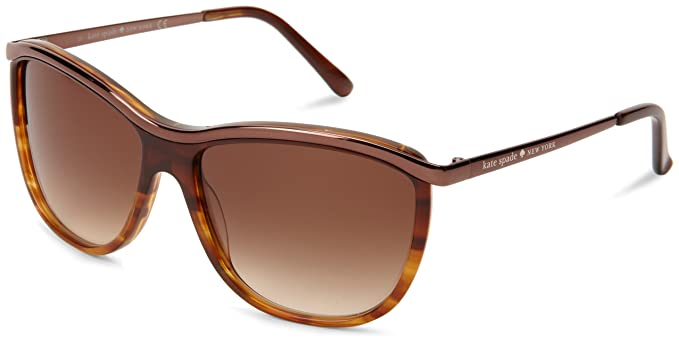 b47db58c6547 Image Unavailable. Image not available for. Colour: KATE SPADE DOMINA/S  0ETN BROWN / TORTOISE 57
