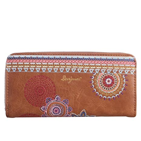 Desigual Monedero, marrón (marrón) - 26732: Amazon.es: Equipaje