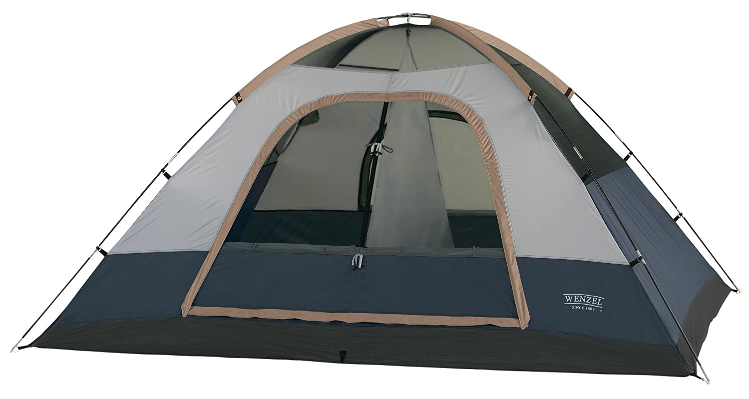 ea8152fe1c7 Amazon.com   Wenzel Ponderosa 10- by 8-Foot Four-Person Two-Room Dome Tent    Camping Tents   Sports   Outdoors
