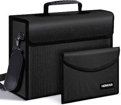 Fireproof Document Safe Bag,Large (17