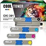 Cool Toner Compatible per OKI 301 C301 C301dn C321 C321dn MC332dn MC342dn MC342 332 MC 342 MC332 332dn MC342dnw MC342w MC342dw Cartucce Stampante Compatible Toner 44973536 44973535 44973534 44973533