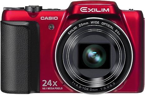 Casio EX-H50RD - Cámara compacta de 16.1 Mp (pantalla de 3