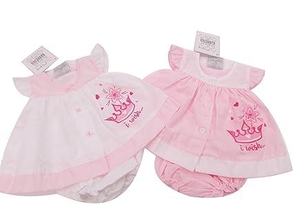 BNWT Tiny NB para bebé (talla bebés prematuros Bebé Ropa Vestido de ...