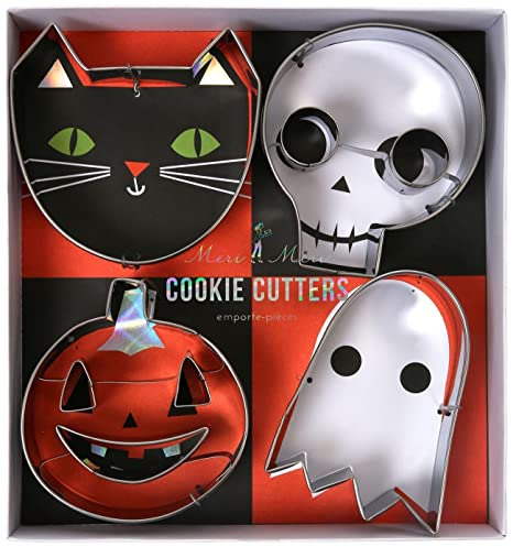 Meri Meri 45 2419 Halloween Cookie Cutters Novelty