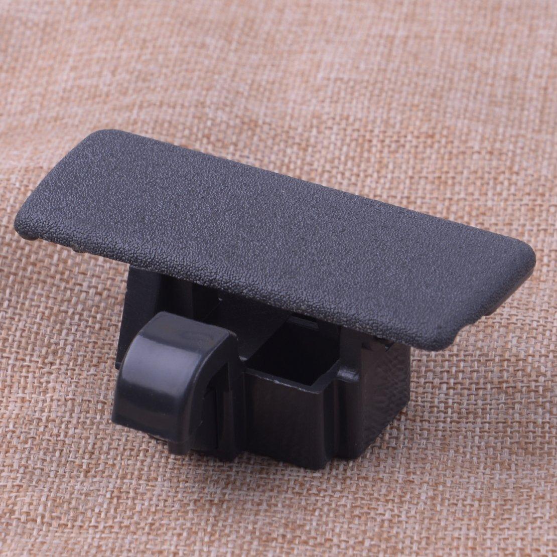 CITALL Noir voiture stockage int/érieur bo/îte /à gants compartiment couvercle couvercle de verrouillage r/églage