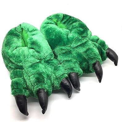 ae9b82392b71 New Unisex Novelty Monster Claw Animal Slippers  Amazon.co.uk  Shoes ...
