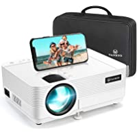 """VANKYO Upgraded Leisure 470 Wireless Projector, Synchronize Smart Phone Screen with 250"""" Size, Mini WiFi Projector for…"""