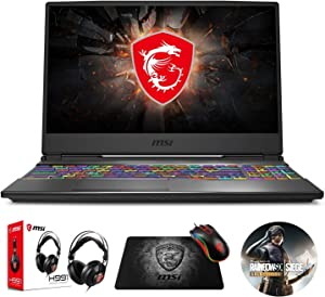 "MSI GP65 Leopard 10SFK-047 (i7-10750H, 16GB RAM, 512GB NVMe SSD, RTX 2070 8GB, 15.6"" Full HD 144Hz 3ms, Windows 10) Gaming Notebook"