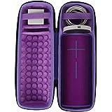 Hard Travel Case for Ultimate Ears UE MEGABOOM 3 Wireless Bluetooth Speaker & Charging Dock by co2CREA (Purple)