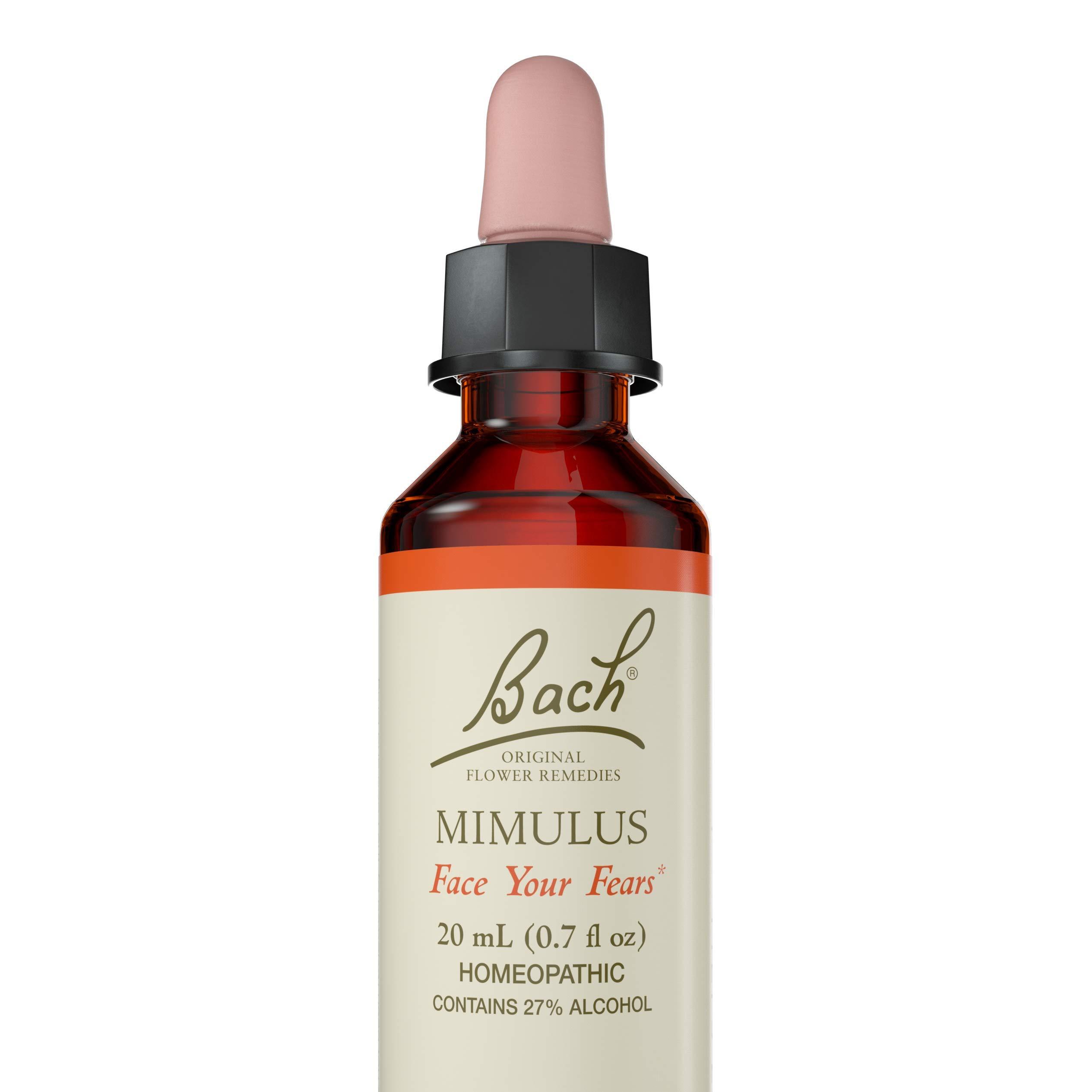 Bach Original Flower Remedy Dropper, 20 ml, Mimulus Flower Essence