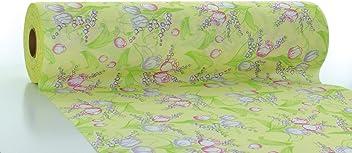 12 Stück Besteckserviette Iris in Mint aus Linclass® Airlaid 40 x 40 cm