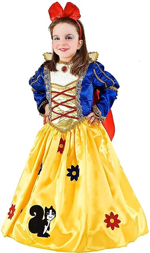 Dei Per Di Boschi Da Carnevale Lusso Principessa Costume Vestito 1wAII