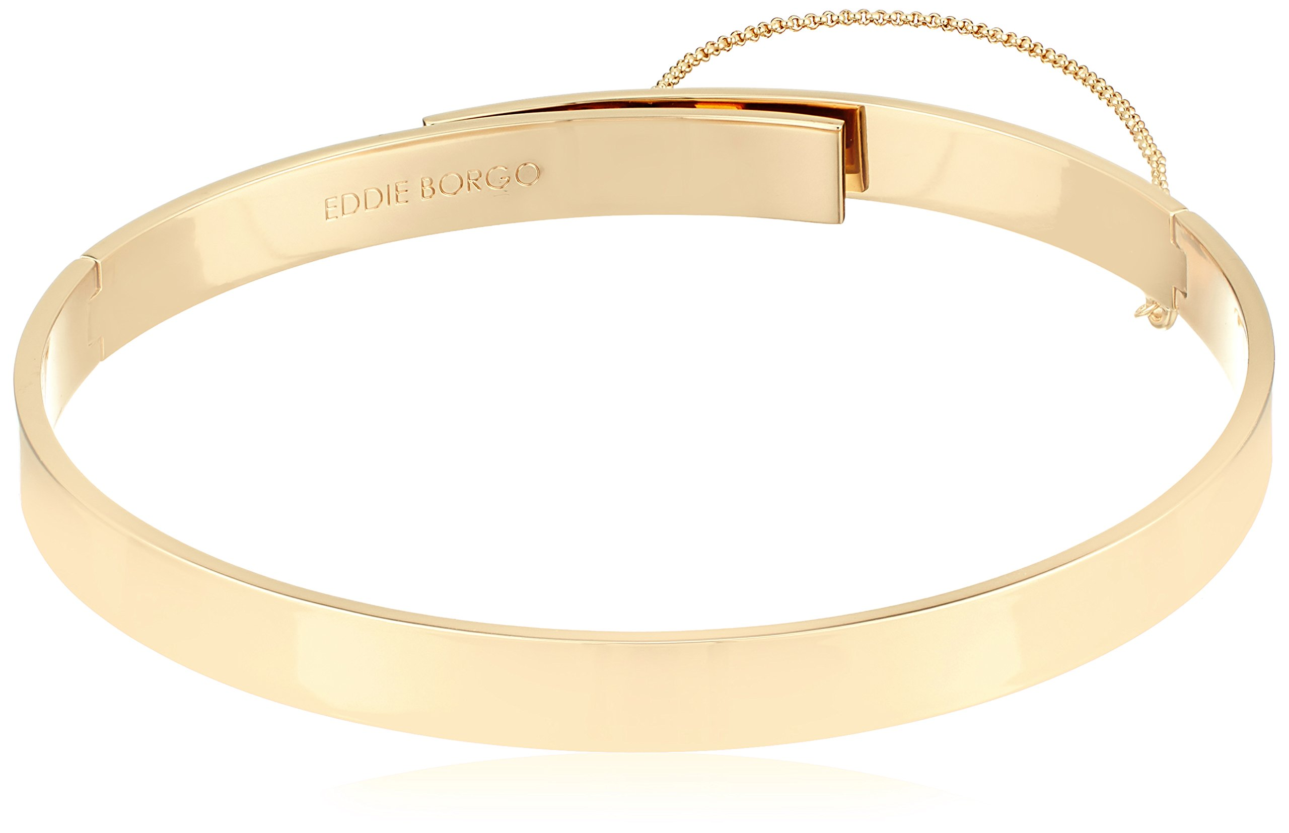 EDDIE BORGO Small Safety Chain Gold Choker Necklace