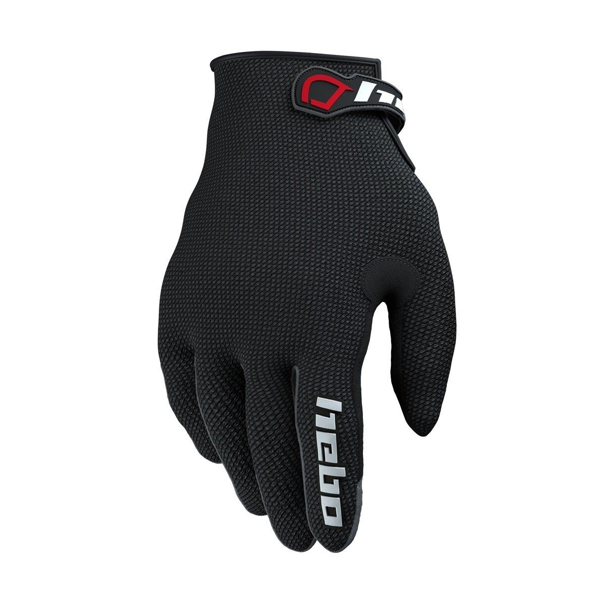 Hebo he1156nl Trial Team II Gloves, Black, Size L HEBOLUTION PARTS SLU