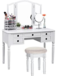 vanity set for teenager.  Vanities Vanity Benches Amazon com