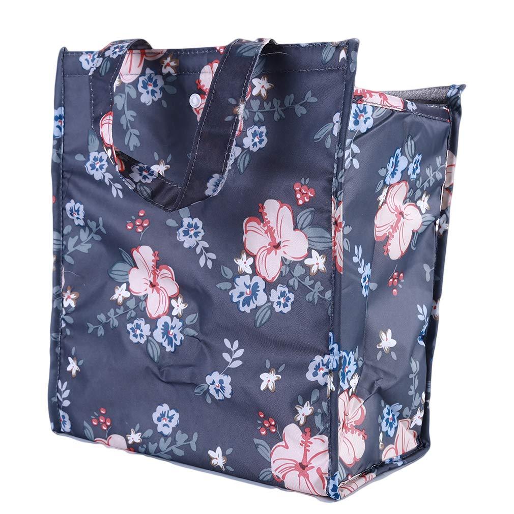 Jixing Lunch Bag Sac /à Lunch isol/é pour Oxford imperm/éable Pique-Nique Mignon pour Femmes Filles Enfants