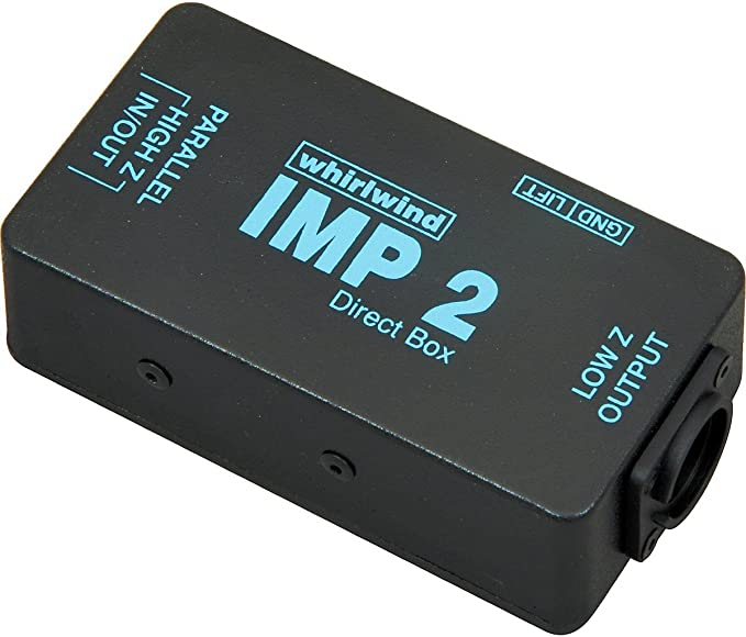 Whirlwind IMP 2 Passive Direct Box: Amazon.es: Instrumentos musicales