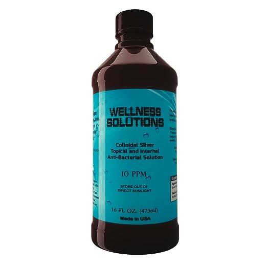 Amazon.com: Plata Coloidal Wellness Soluciones (16oz) inmune ...