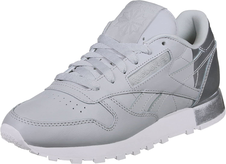 Scarpe Reebok – Cl Leather Matte Shine grigio/bianco/argento formato: 35.5