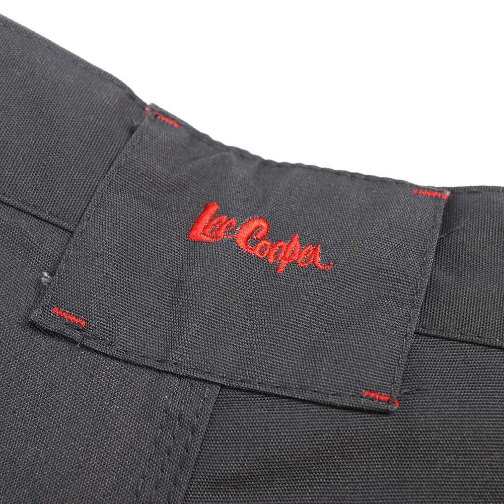 Lee Cooper Workwear LCPNT216 Pantaloni multitasche da lavoro Nero 36W x 34L