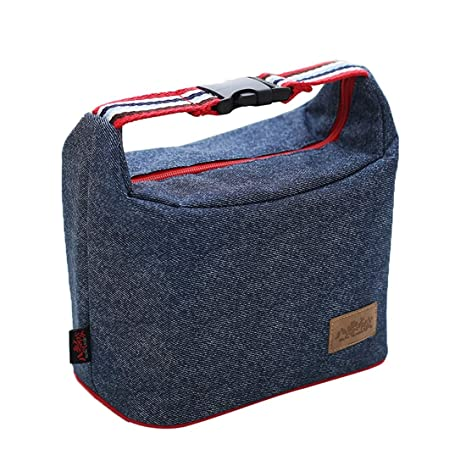 Gxianwengen Bolsa de Almuerzo Men Cooler Bag Zip Correa de ...