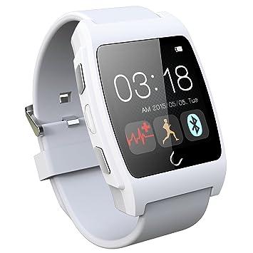 UniqueBella – Bluetooth 4.0 NFC Heart Rate Monitor Podómetro sano Monitor reloj inteligente para Samsung S6