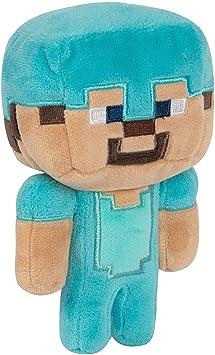Minecraft 8731 Happy Explorer Diamond Steve Felpa: Amazon.es ...