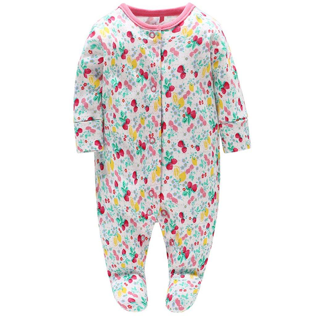 Bebé Pijama Mamelucos de Algodón Peleles Niñas Monos de Manga Larga: Amazon.es: Ropa y accesorios